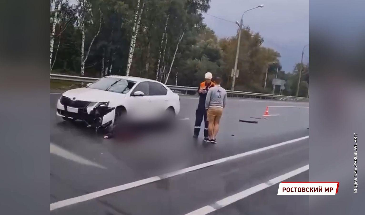 В Ярославской области мужчина на электросамокате выехал на федеральную трассу и погиб