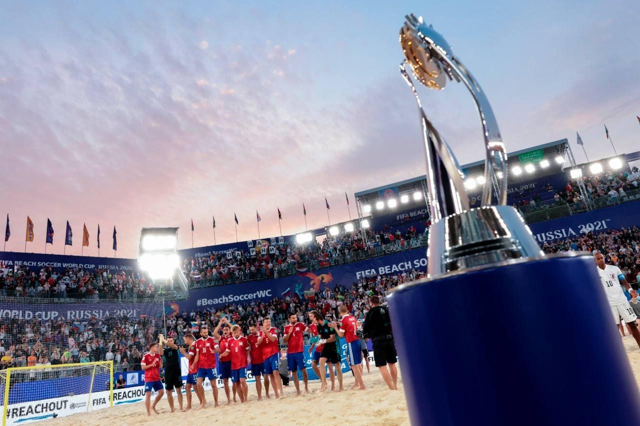 Ярославец Борис Никоноров в составе сборной России взял золото на Чемпионате мира по пляжному футболу 2021