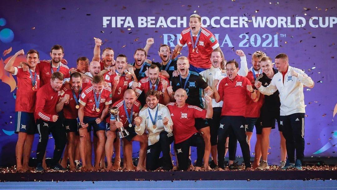 Ярославец Борис Никоноров в составе сборной России стал чемпионом мира по пляжному футболу и стал лучшим бомбардиром сборной