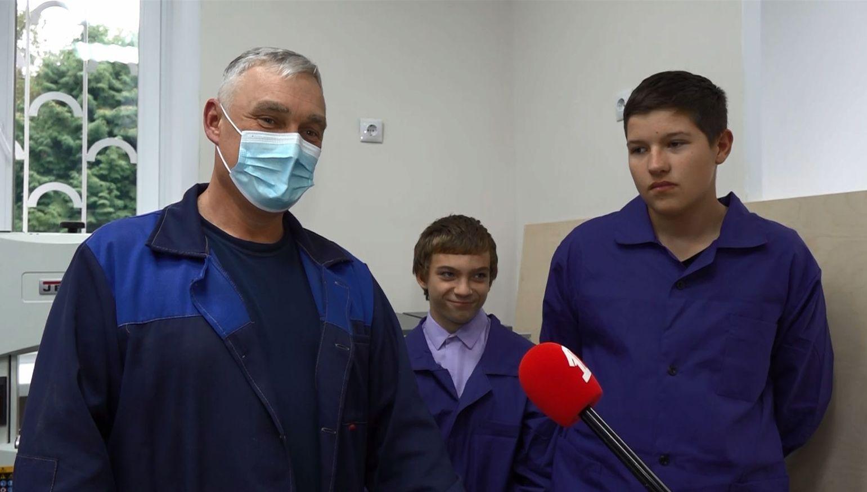 Новые производственный классы отрылись в школе-интернат №9 Ярославля