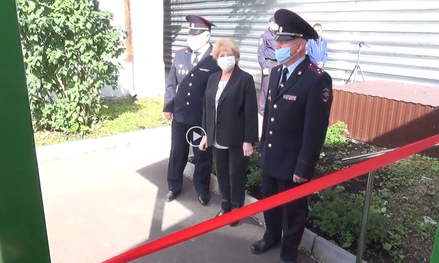 На территории ОМВД России по городскому округу города Переславль-Залесский состоялось открытие врачебного здравпункта