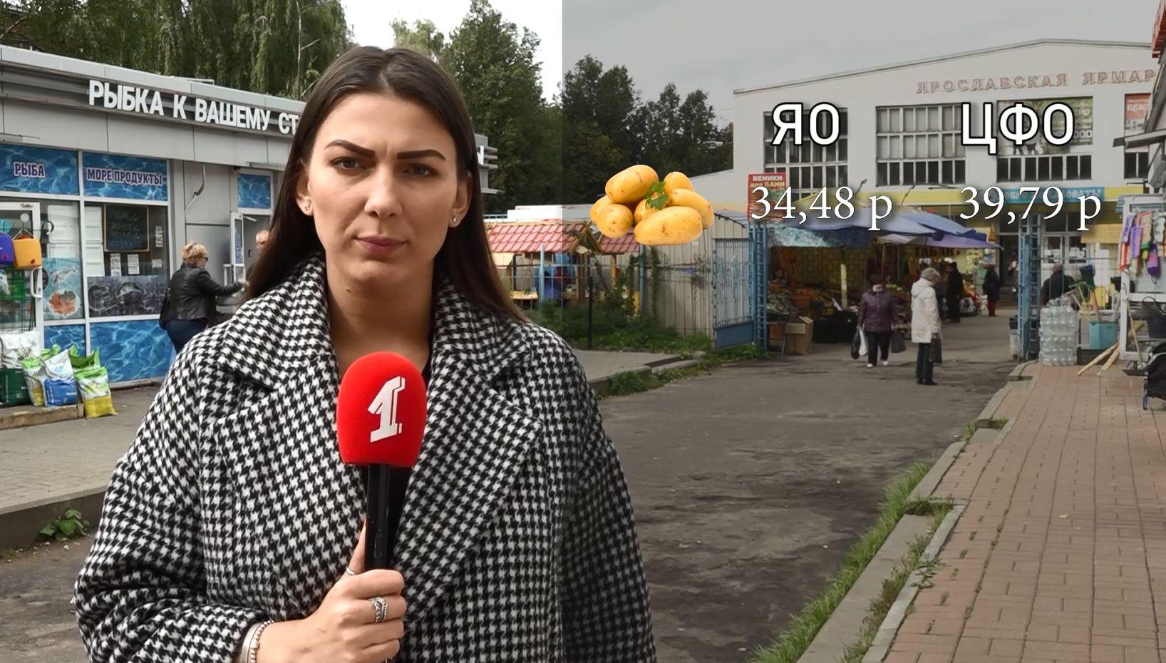 Как изменится стоимость основных продуктов в Ярославле в сентябре?