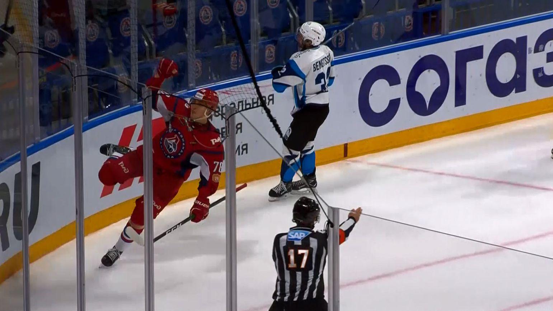 Ярославский «Локомотив» проиграл минскому «Динамо» в очередном матче регулярного чемпионата КХЛ
