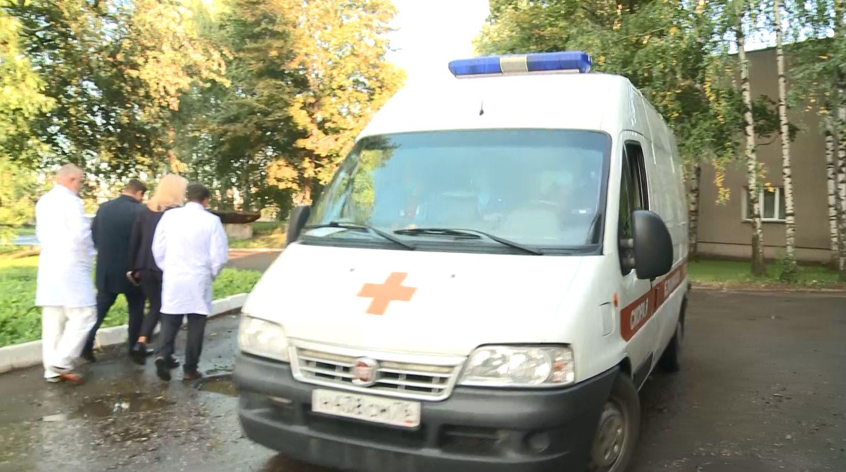 В Ярославле в больнице имени Соловьева начался ремонт подъезда для машин скорой помощи