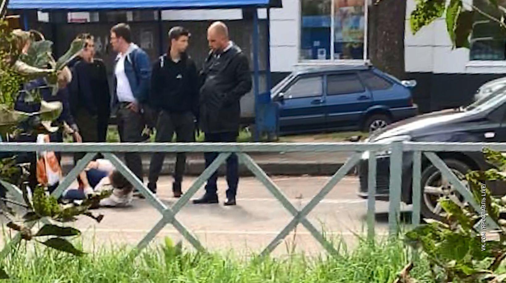 В Ярославле на улице Клубной иномарка сбила женщину