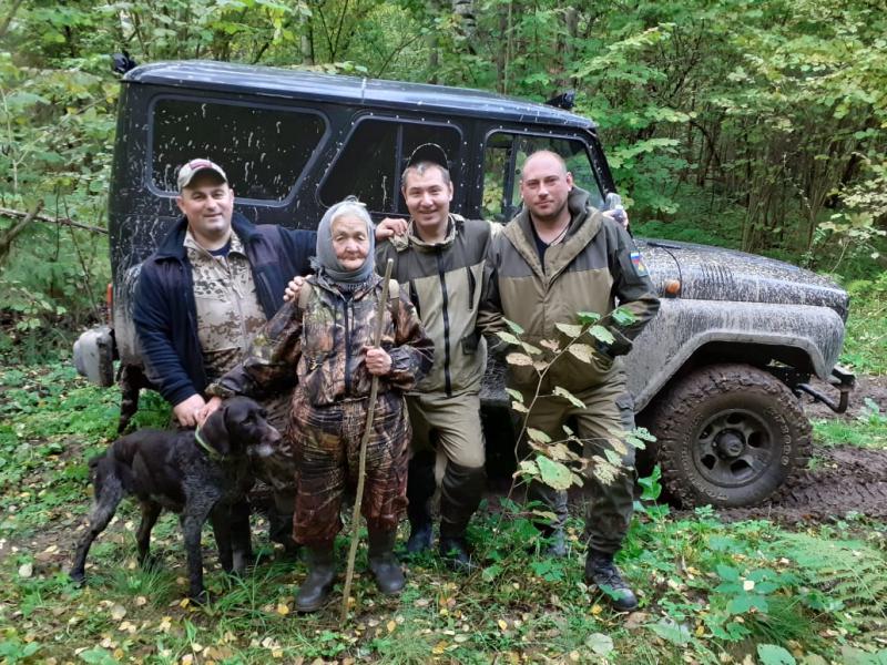 В Гаврилов-Ямском районе заблудившаяся 81-летняя местная жительница пробыла в лесу трое суток