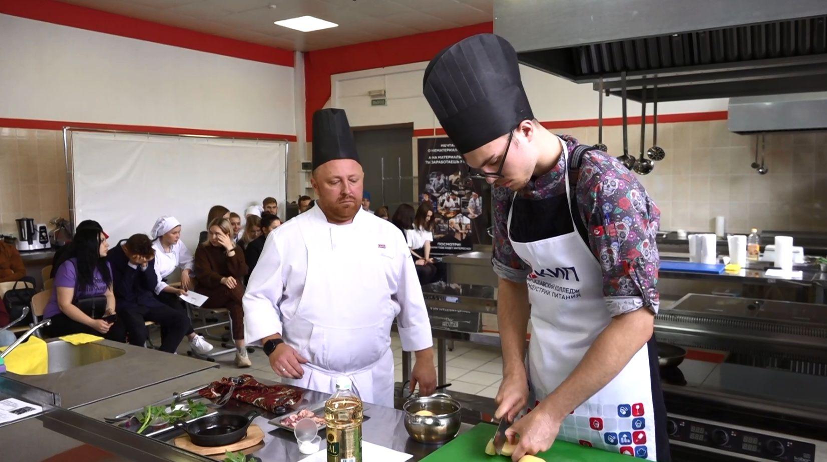 В колледже индустрии питания в Ярославле прошел кулинарный баттл