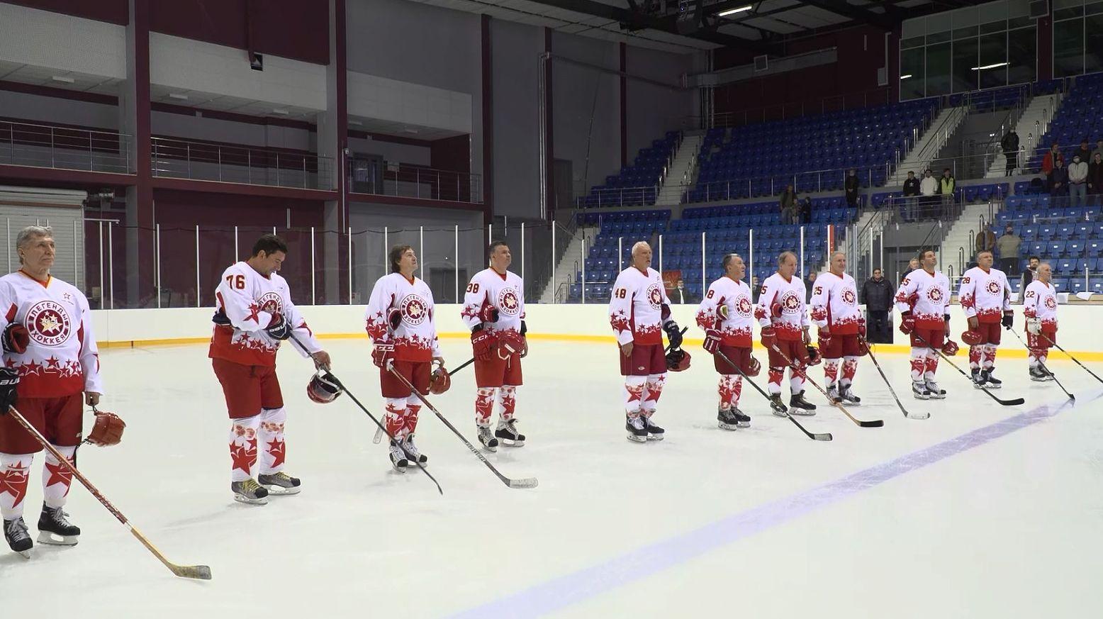В Ярославле прошел товарищеский матч в честь триумфа сборной СССР по хоккею на Кубке Канады-1981