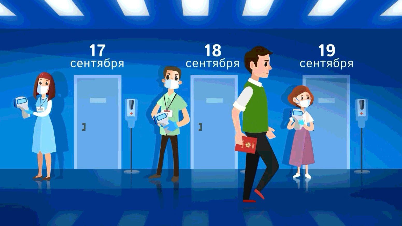 Более восьмисот избирательных участков открылись на территории Ярославской области