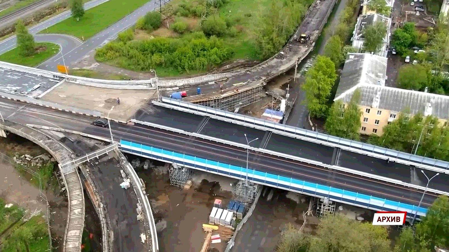 Добрынинский путепровод в Ярославле полностью открыли для движения транспорта