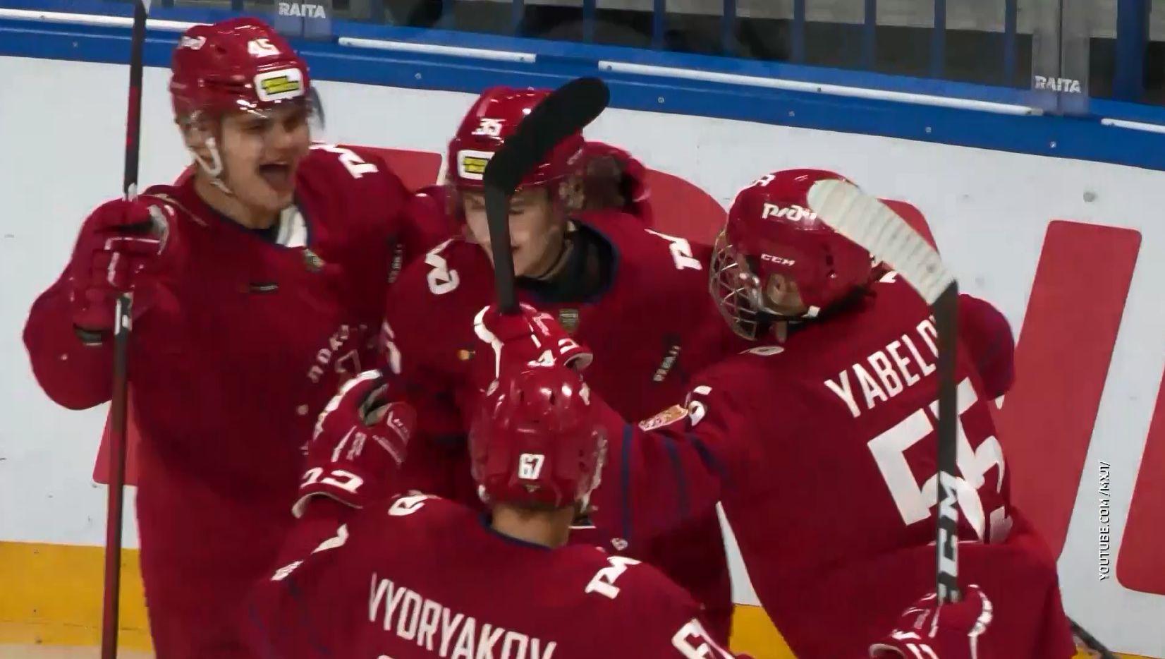 Ярославские молодежные команды «Локо» и «Локо-76» провели очередные матчи в чемпионате МХЛ