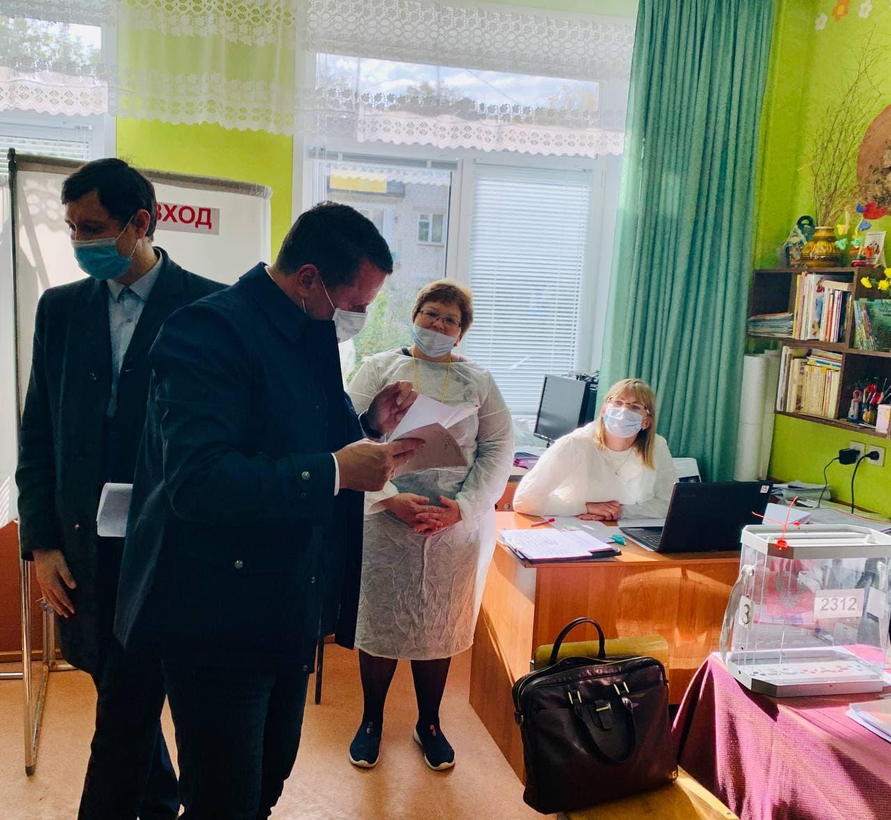 Выездная мобильная группа Штаба общественного наблюдения за выборами в Ярославской области: на участках ситуация спокойная, всё проходит в штатном режиме
