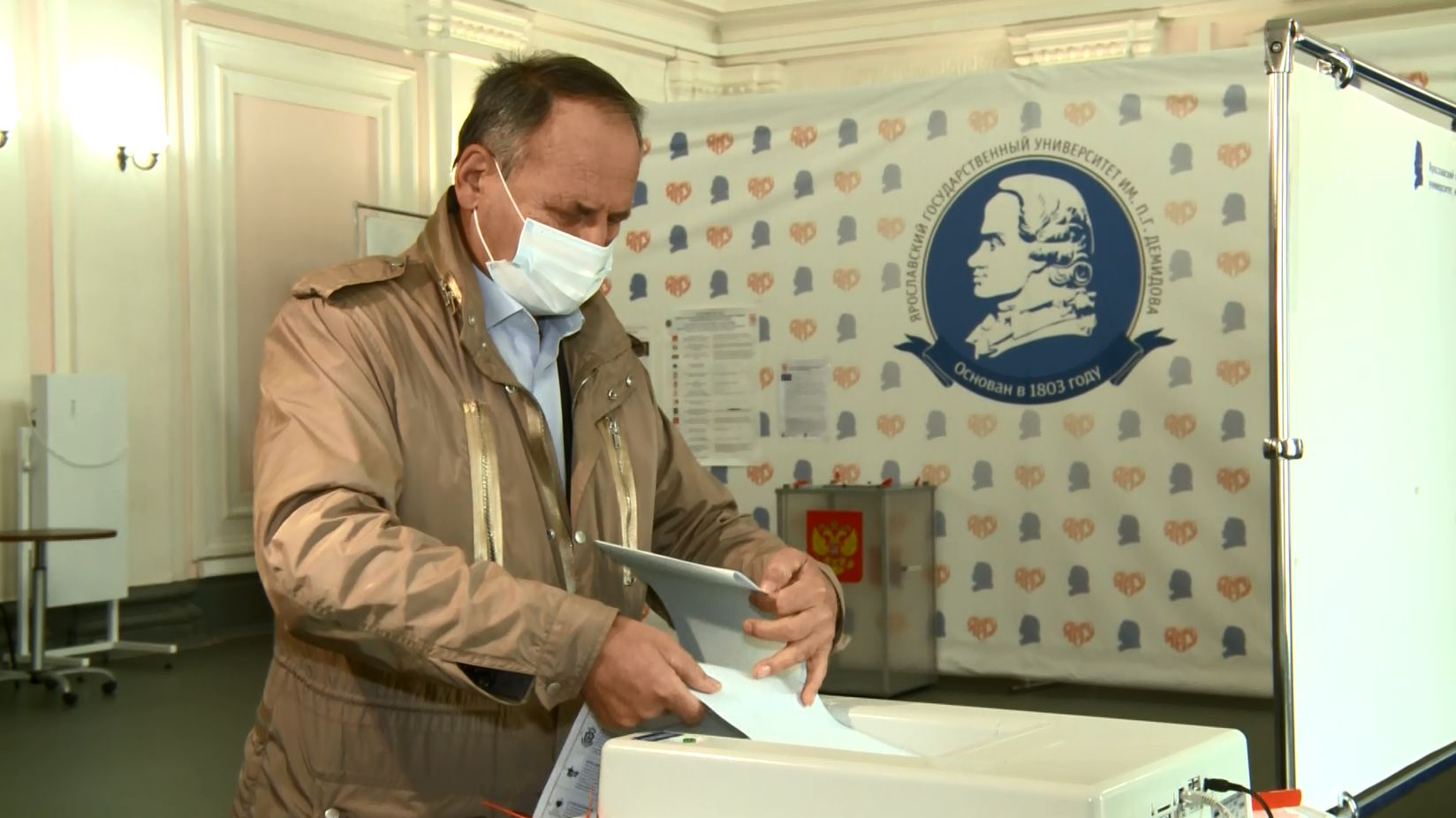 Председатель Областной Думы Михаил Боровицкий: каждый гражданин обязан реализовать право выбора