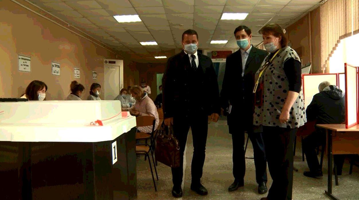 Вместе с процессом голосования свою работу вел и Общественный штаб по наблюдению за выборами в Ярославской области