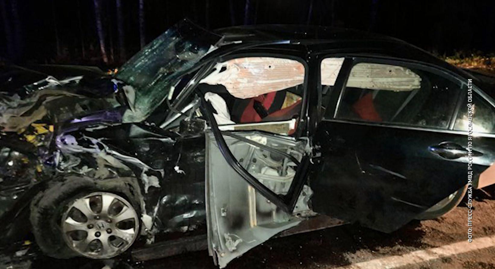 На трассах Ярославской области накануне в ДТП скончались молодой мужчина и пенсионерка