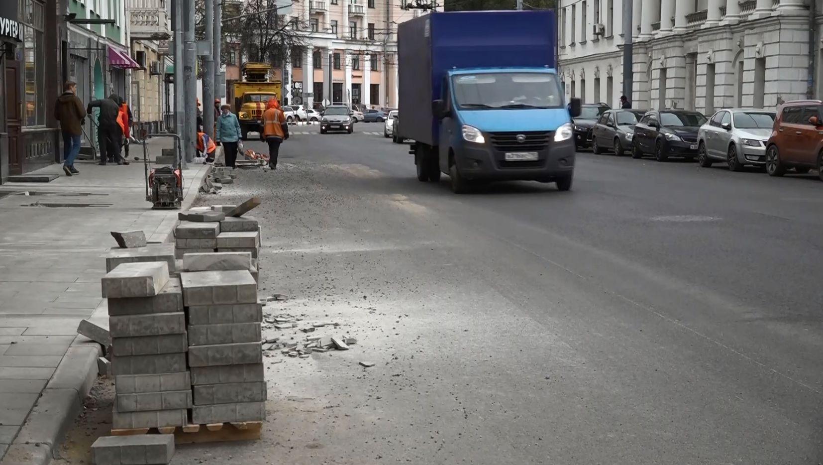 Подрядчики вновь перенесли срок сдачи улицы Комсомольской и проспекта Машиностроителей в Ярославле