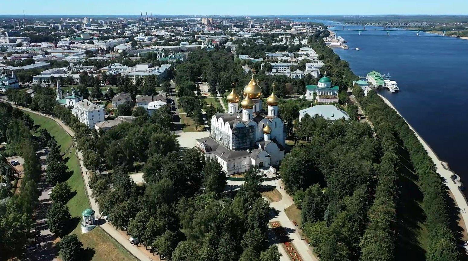 Топ городов, где жители выбрали для отпуска Ярославию