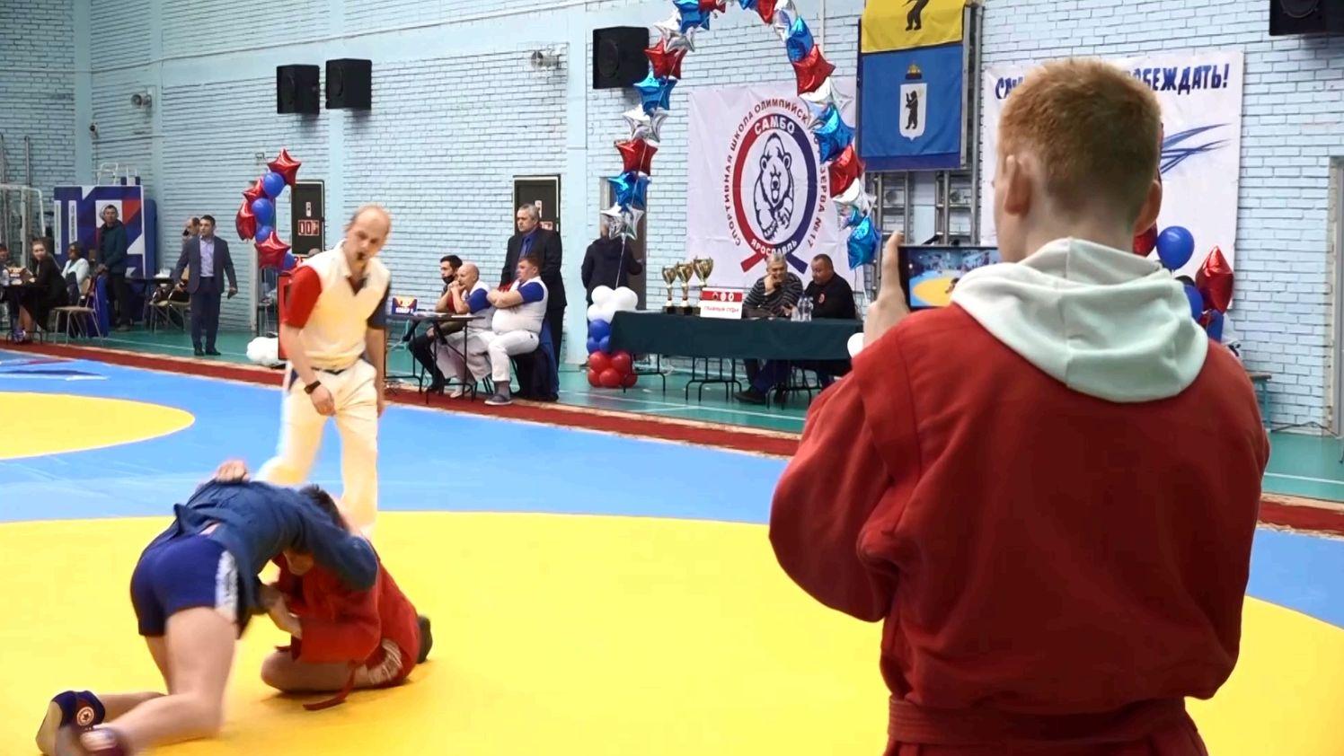 В Ярославле стартовал Кубок Губернатора по самбо