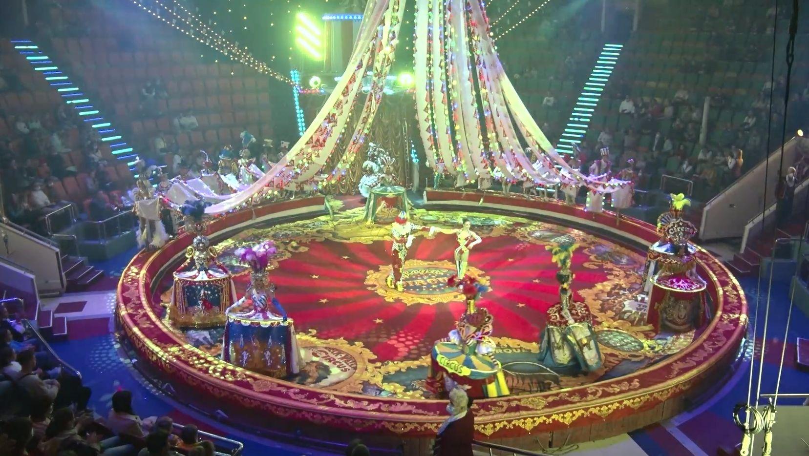 В Ярославском цирке даёт представление коллектив - обладатель «Золотого клоуна Монте-Карло»