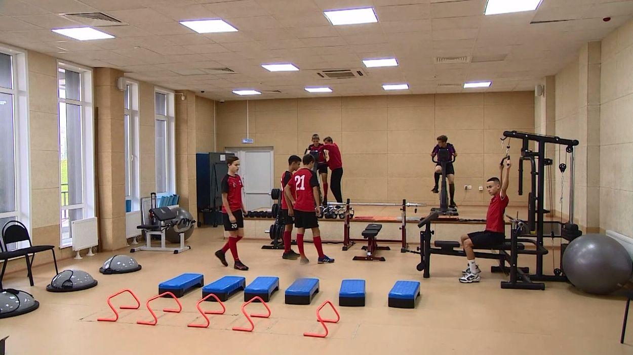 В тринадцатой спортивной школе Ярославля появился новый инвентарь