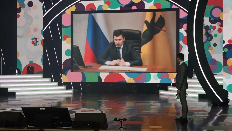 Дмитрий Миронов на открытии форума Проектория поприветствовал участников: ищите нестандартные решения, учитесь отстаивать свои идеи