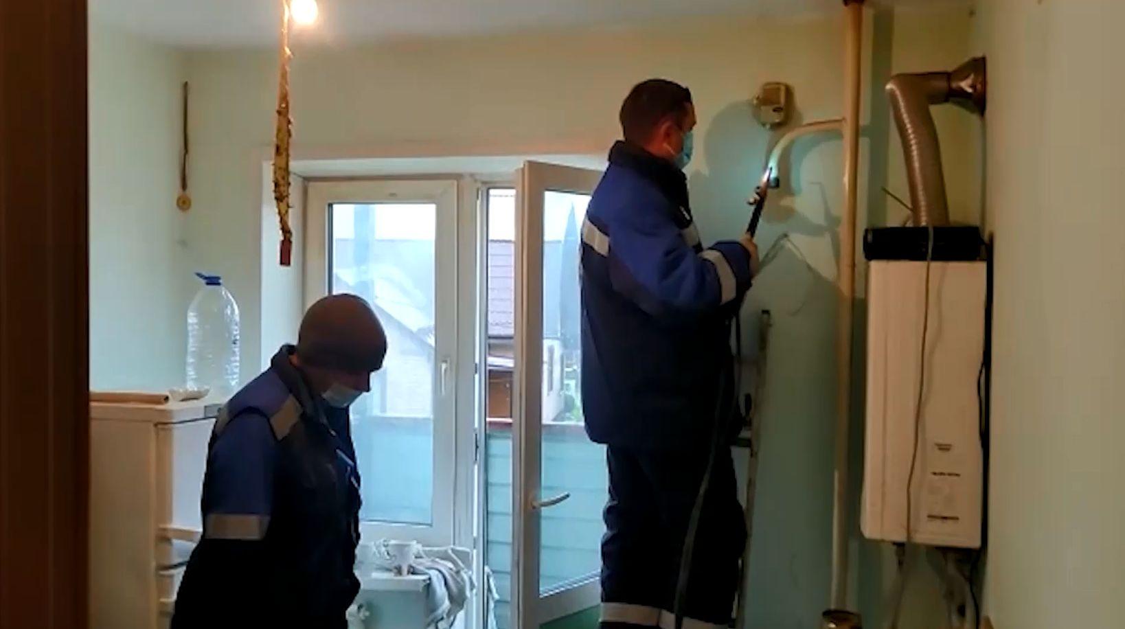 В Гаврилов-Яме Ярославской области квартиру должника отключили от газовой трубы