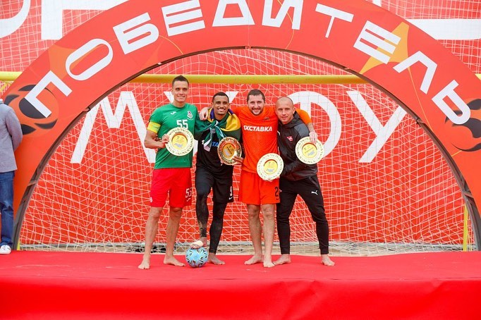 Ярославец Борис Никоноров стал лучшим бомбардиром и серебряным призёром Кубка России по пляжному футболу 2021