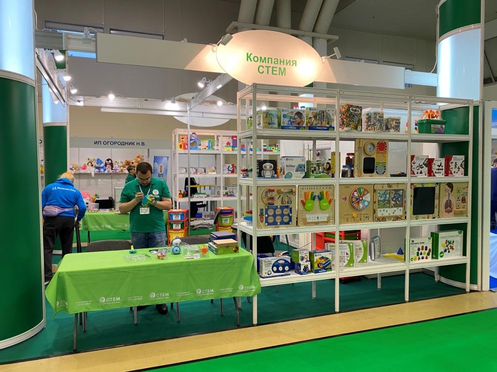 Ярославская компания-производитель развивающих наборов для детей приняла участие в международной выставке
