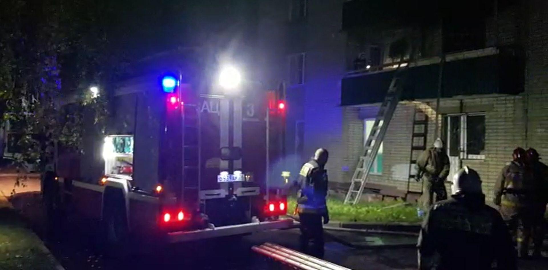 В общежитии Ярославского технического университета на Гагарина, 11 произошло возгорание комнаты