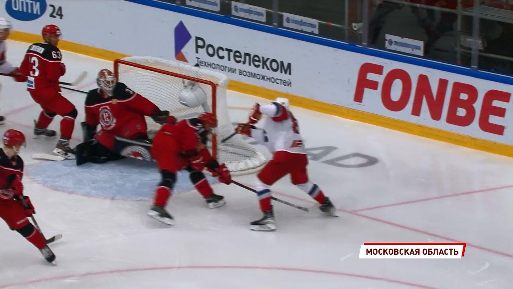 Вторая победа подряд с одинаковым счетом - Ярославский «Локомотив» обыграл «Витязь» в гостевом поединке
