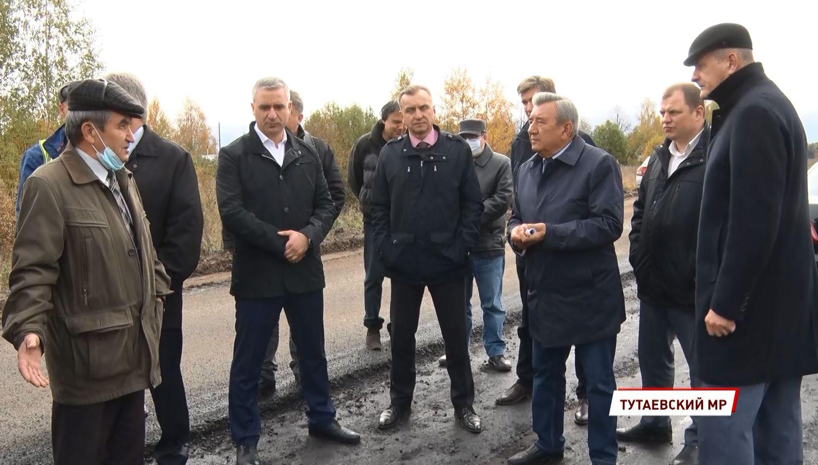 Самый крупный дорожный объект региона Тутаев-Шопша могут не сдать в срок