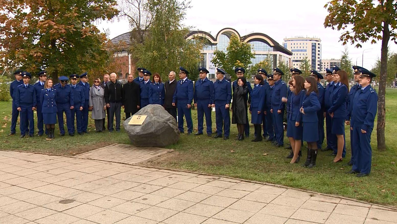 В парке 1000-летия в Ярославле появилась аллея к 300-летию создания прокуратуры