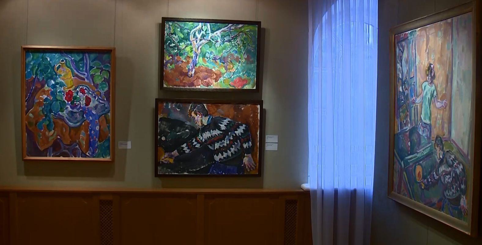 В Ярославском художественном музее проходит выставка ленинградских художников