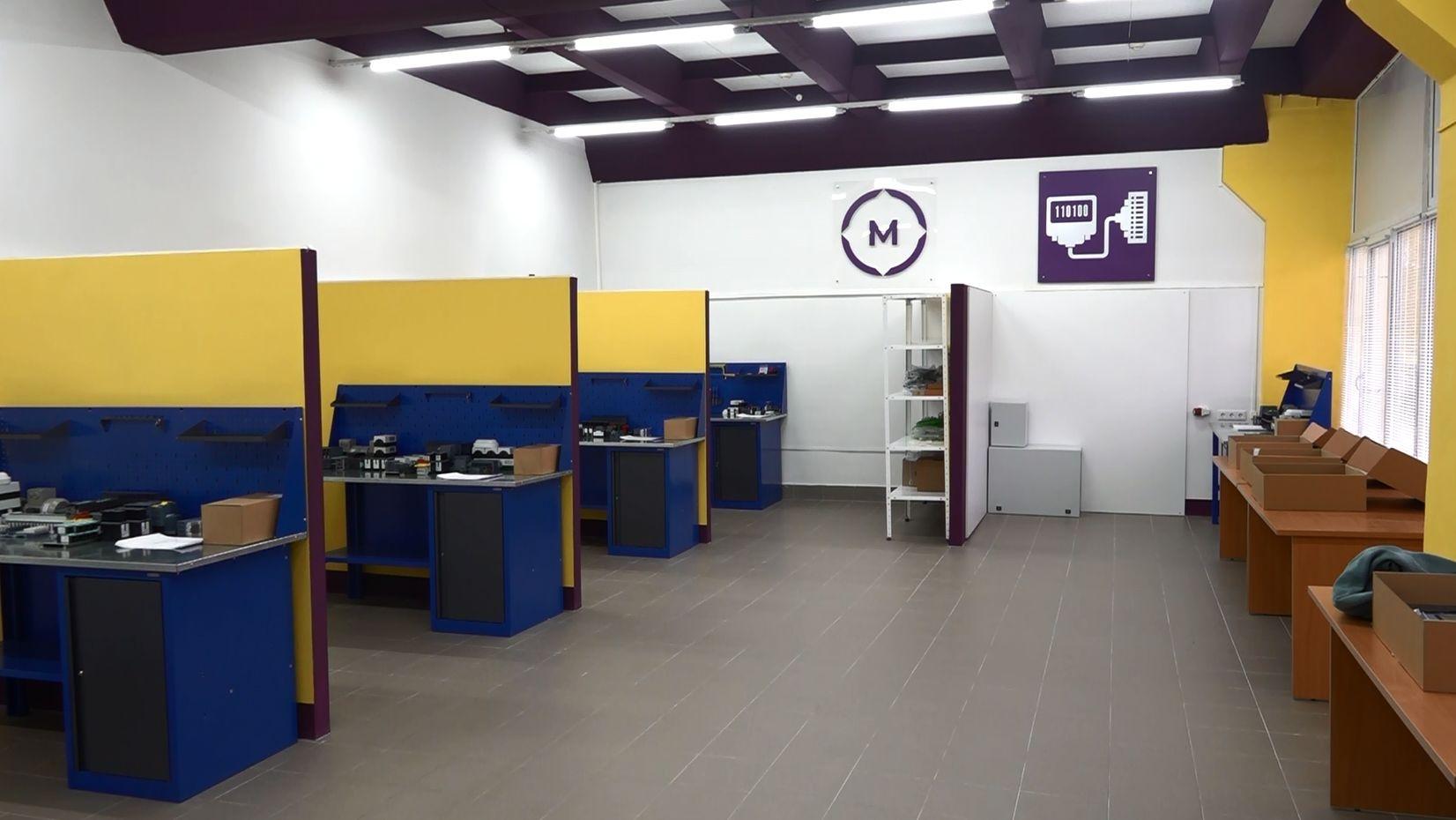 Новые учебные мастерские открылись в Ярославском промышленно-экономическом колледже