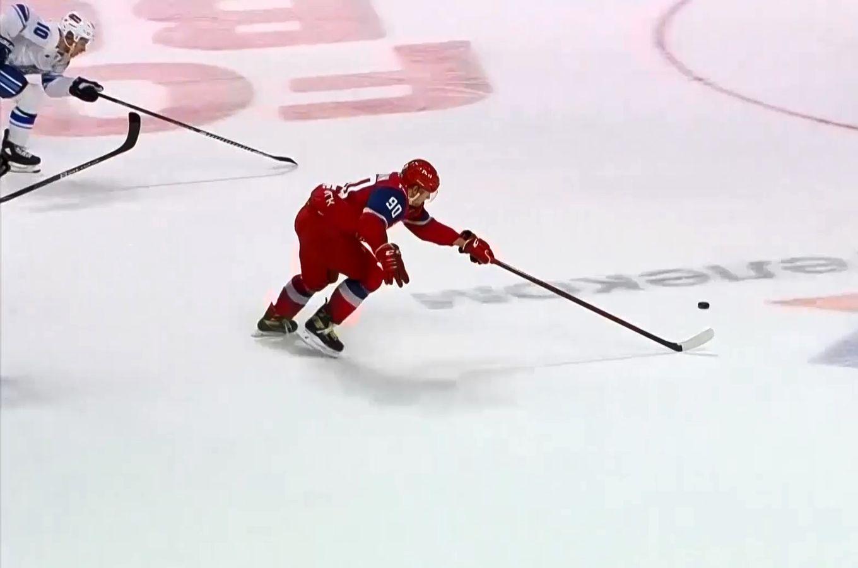 Ярославский «Локомотив» обыграл «Барыс» в домашней встрече чемпионата КХЛ