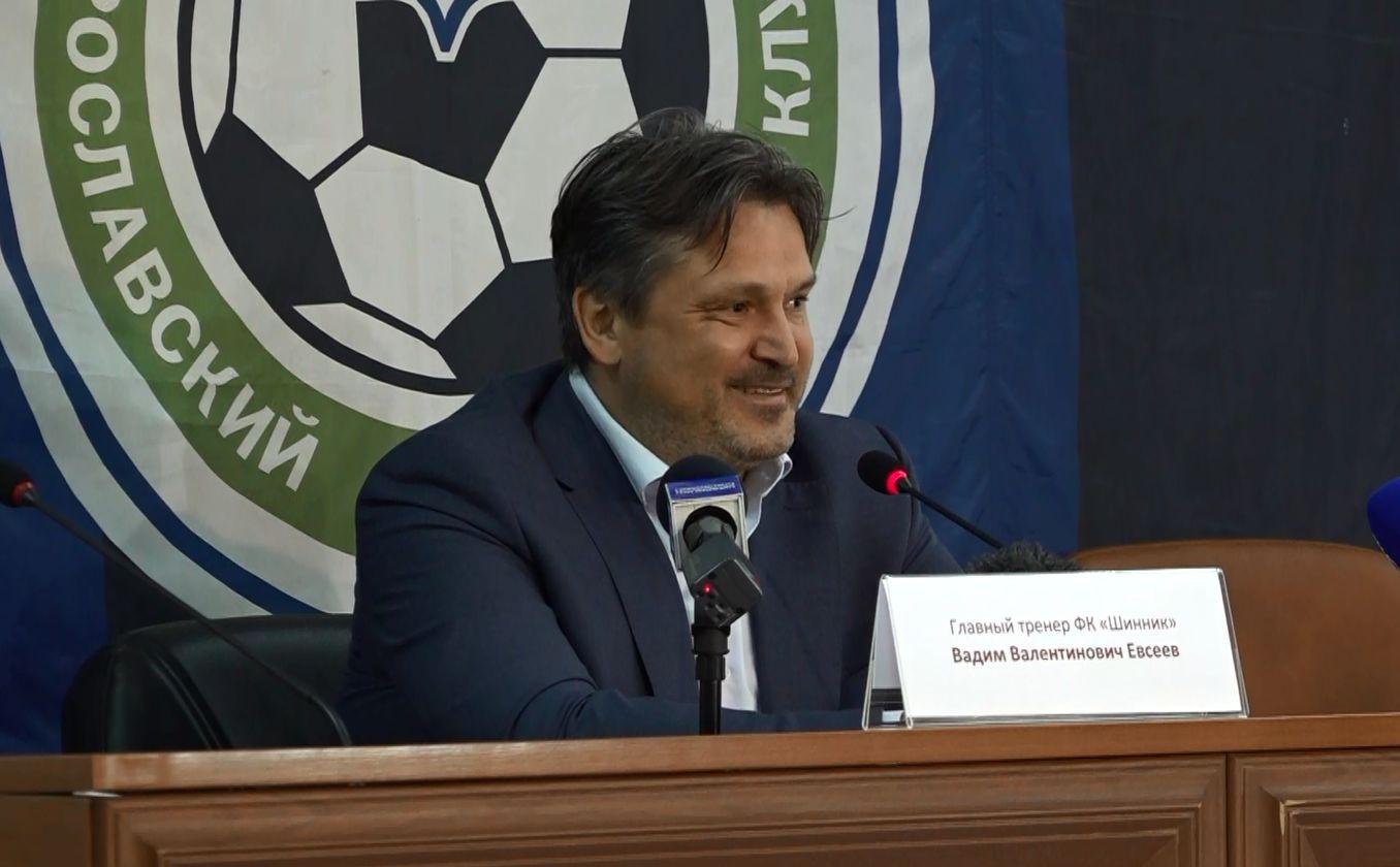 Главный тренер Ярославского «Шинника» Вадим Евсеев признан лучшим тренером месяца в своей группе в ФНЛ-2