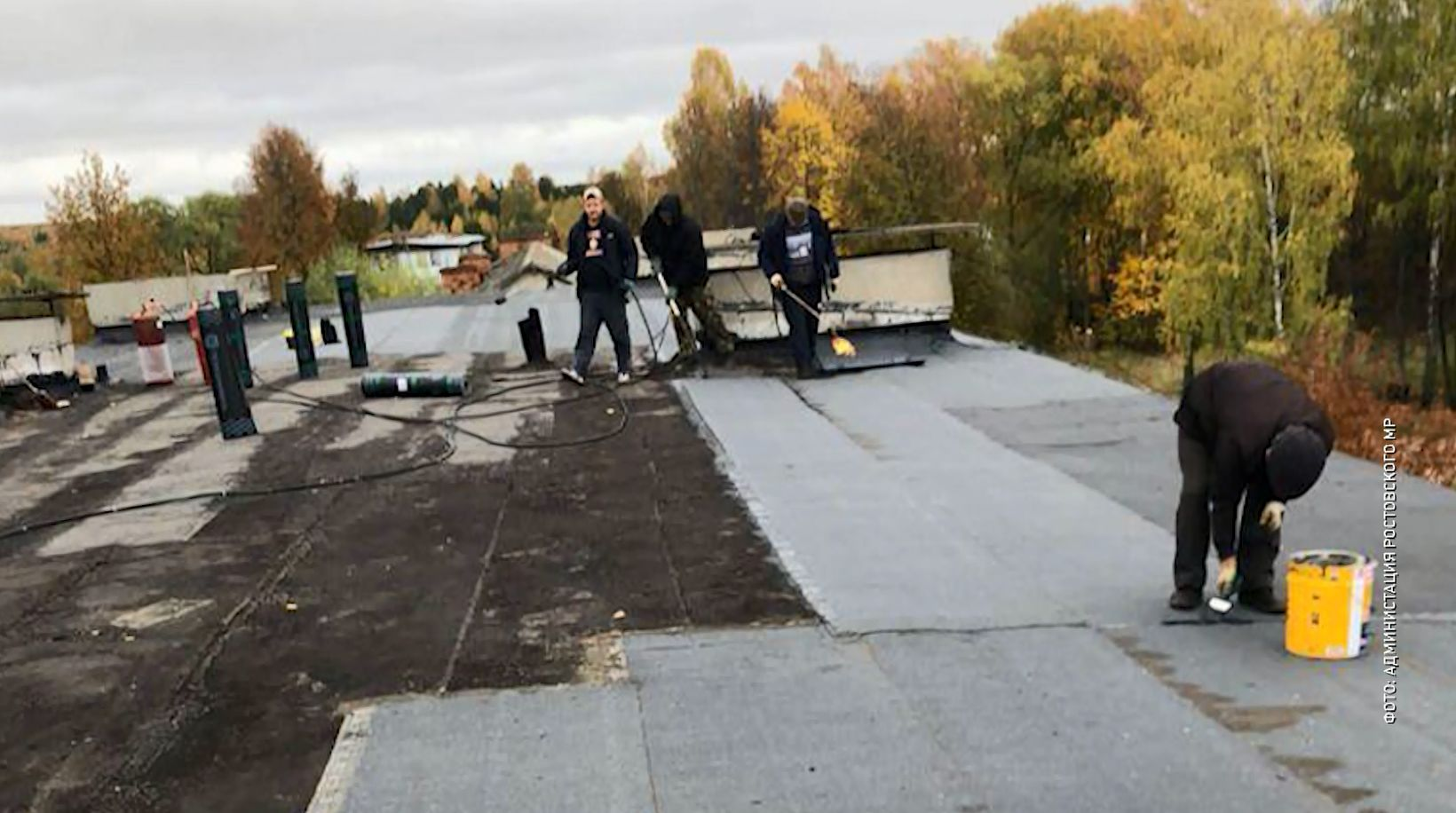 Ремонт крыши дома по улице Заводской поселка Хмельники Ярославской области включили в план капремонта
