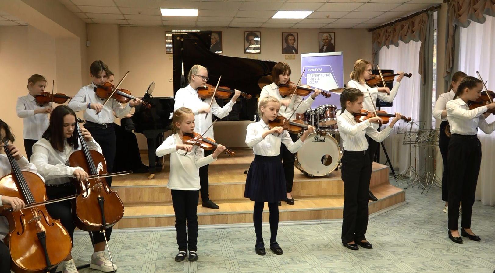 В школе искусств №3 Ярославля прошел праздничный концерт по случаю обновления музыкальной аппаратуры