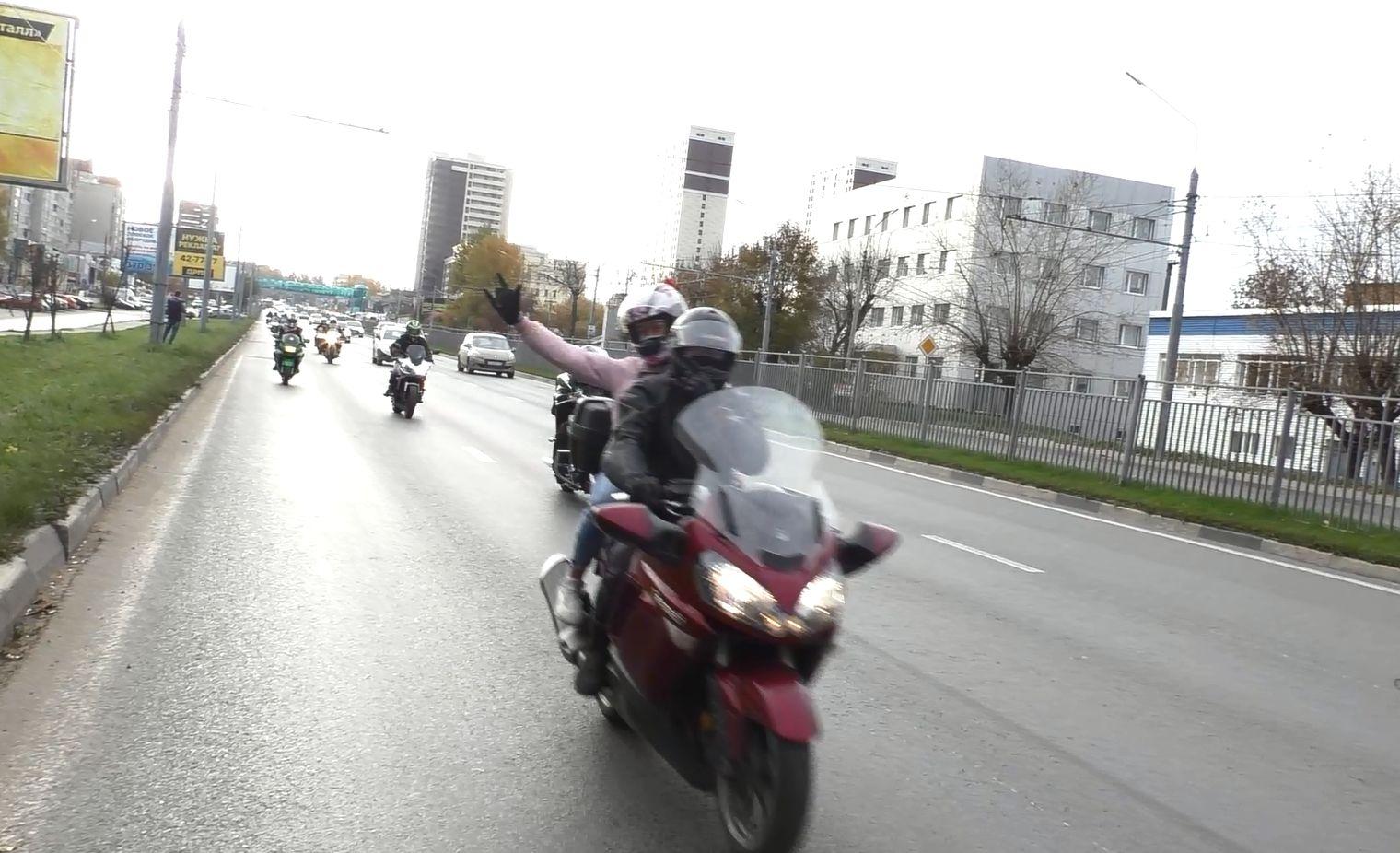 Ярославские байкеры закрыли мотосезон