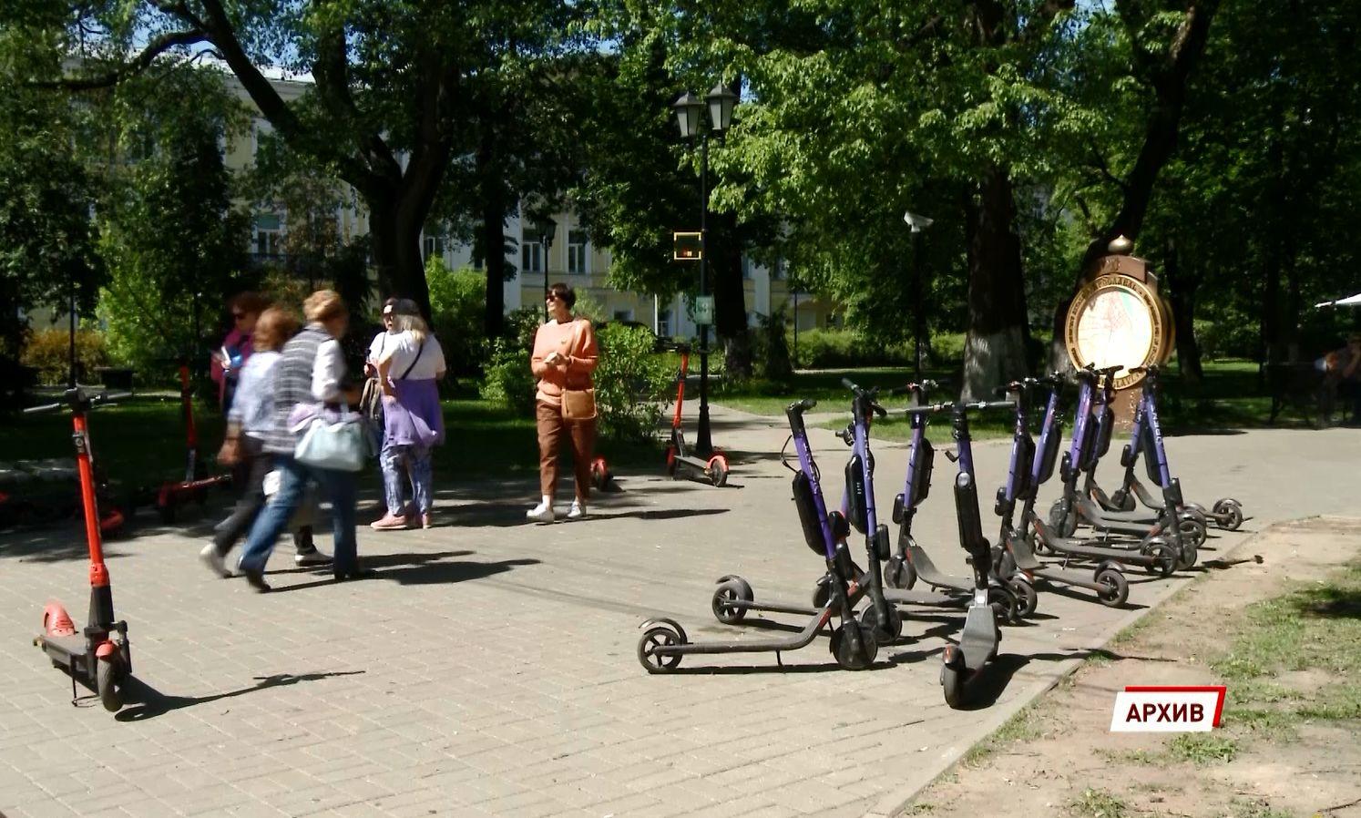 В Ярославле серьёзно ограничат свободу передвижения арендных электросамокатов