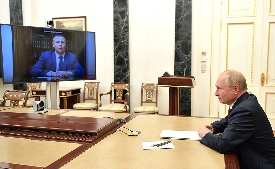 Владимир Путин назначил Михаила Евраева врио губернатора Ярославской области