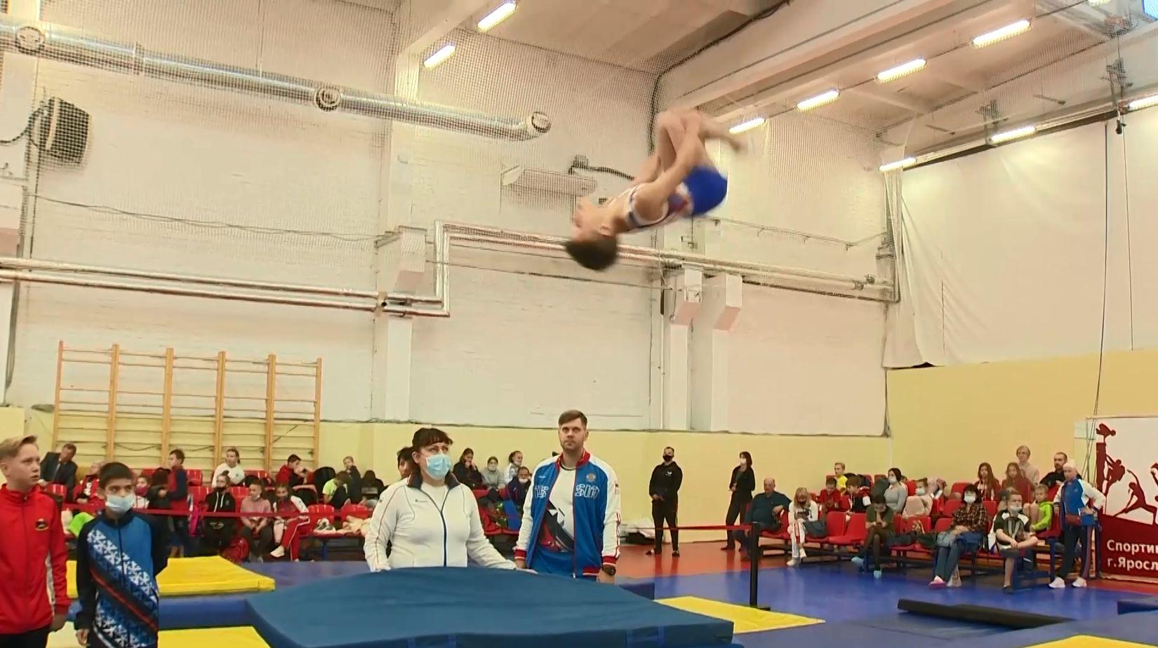 В Ярославле началось первенство России по прыжкам на батуте