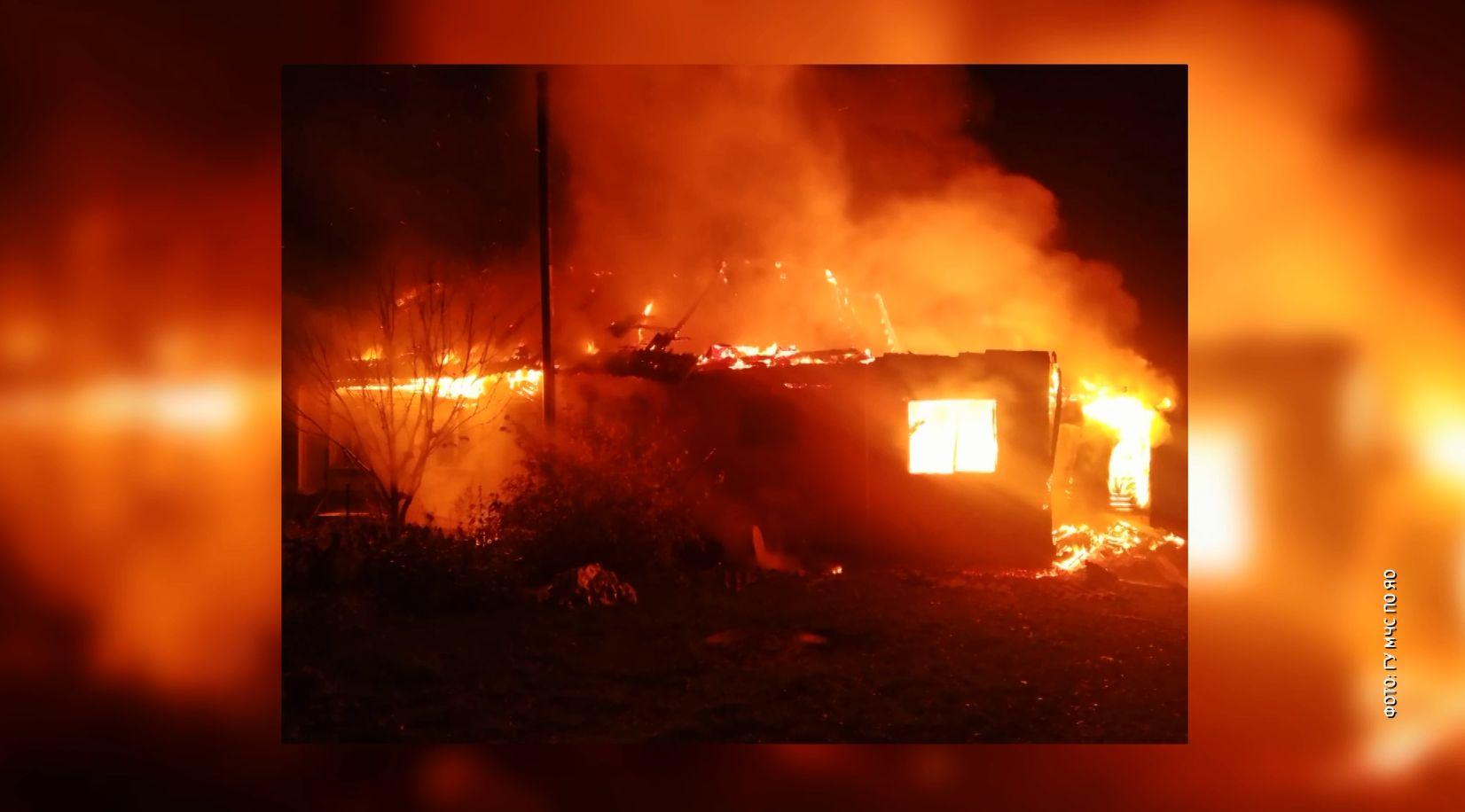 Для жителей Брейтова Ярославской области эта ночь выдалась жаркой