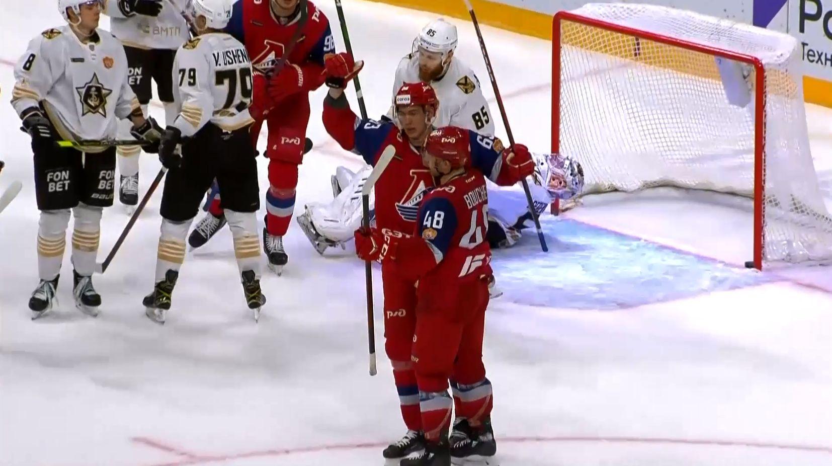 «Локомотив» прервал серию из четырех побед подряд и уступил «Адмиралу» из Владивостока