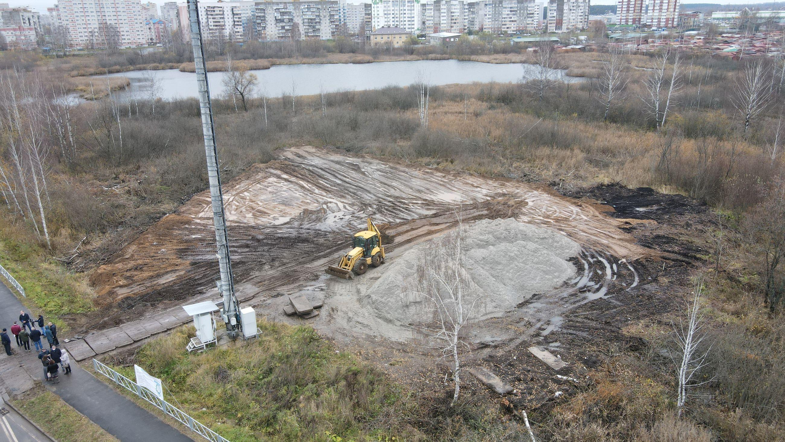 Благоустройство Озерной гривки в Ярославле оценила комиссия мэрии города