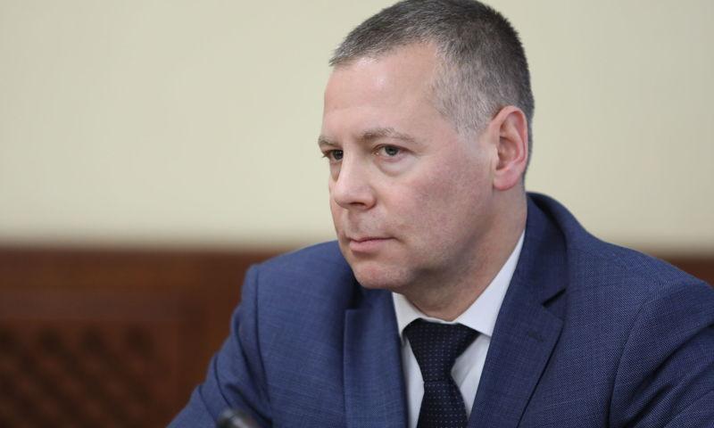 Врио губернатора Михаил Евраев проводит заседание оперштаба по коронавирусу в Ярославской области