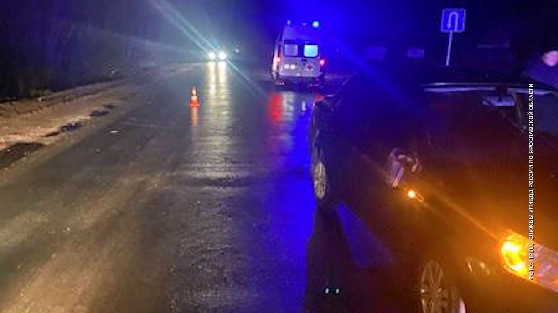 Одиннадцатилетний мальчик оказался под колесами легковушки на дороге Нагорье-Берендеево в Переславском районе Ярославской области