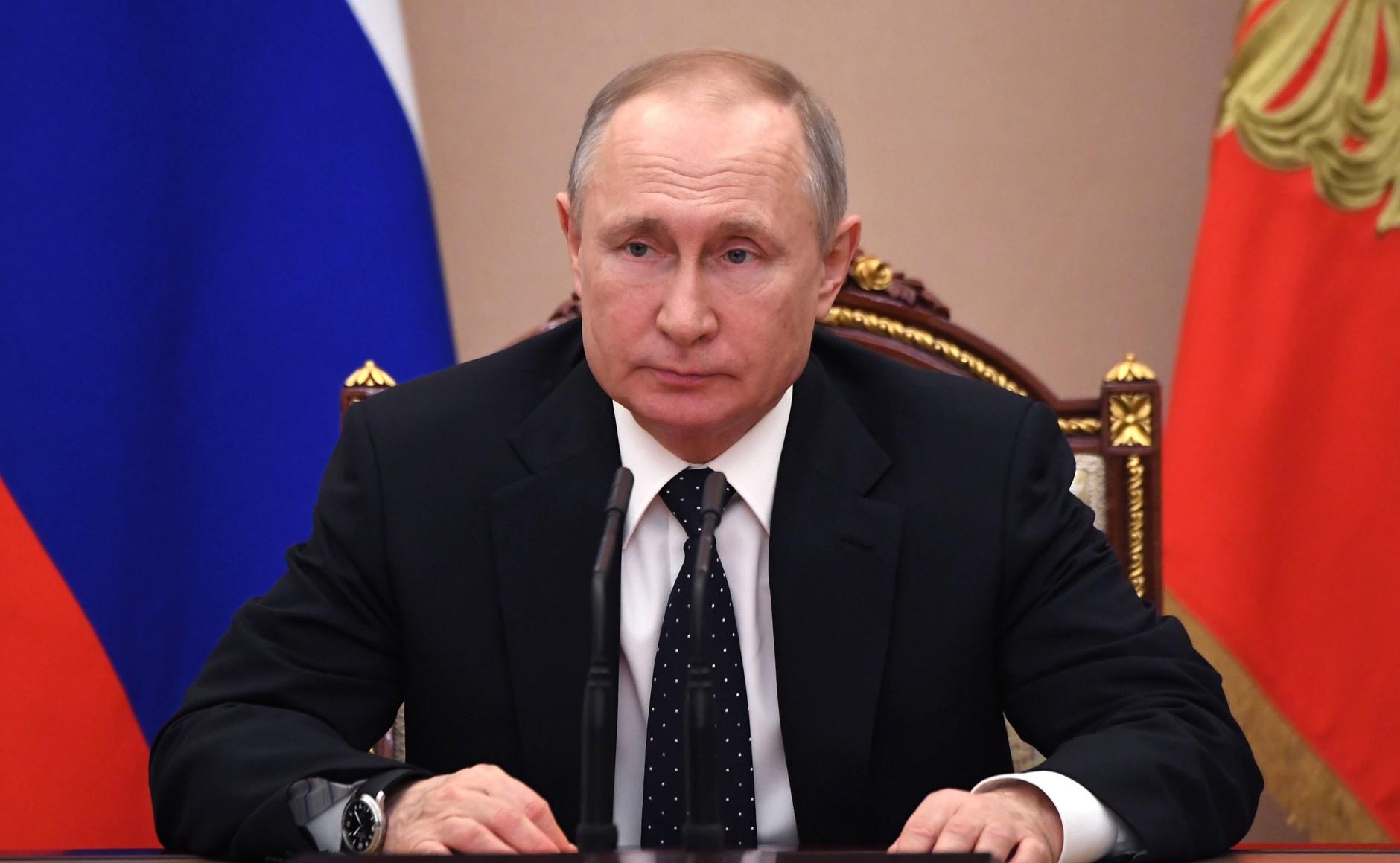 Владимир Путин снова выступит с обращением к гражданам