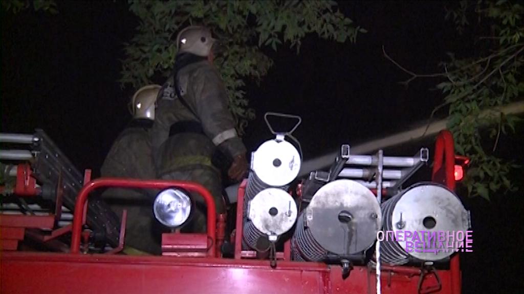 Пожар на мусорном полигоне в Гаврилов-Ямском районе удалось ликвидировать