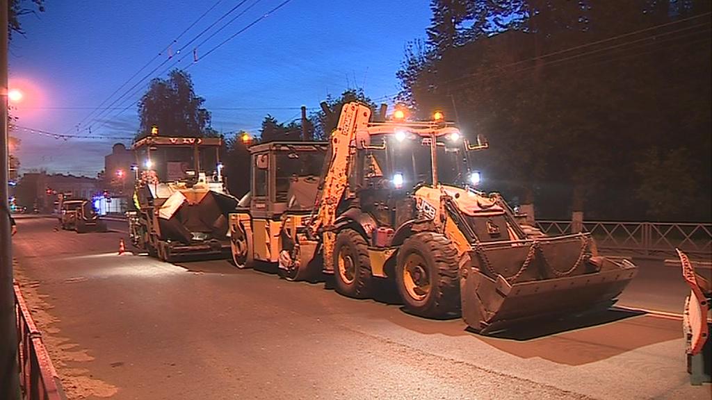 Подрядчика в Ярославле обвинили в срыве сроков ремонта дорог